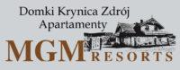 logo Domki Krynica Zdrój Apartamenty MGMResorts