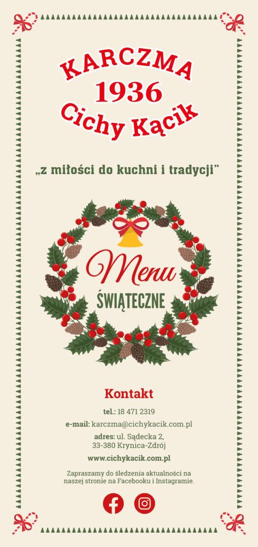 Menu świąteczne str. 1